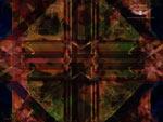 Fond d'écran : vision chamanique d'un mandala