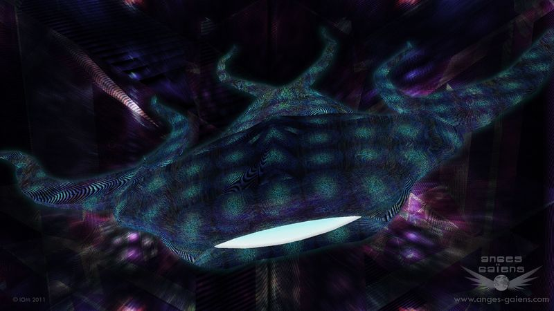 Fond d'écran : un Aksha, Ange gardien de l'entremonde ou au-delà