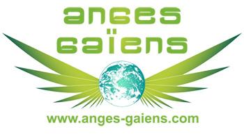Logo Anges Gaïens autocollant